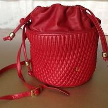 Bally Red Shoulder Handbag Photo