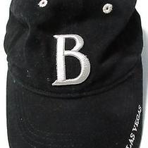 Bally's Hotel and Casino Las Vegas Embroidered 'B' Black Baseball Hat Cap Photo