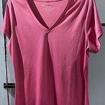 Bally's Women Shirt Athletic Short Sleeve Dry Wik Tee Pink Size Xl Few Small Pul Photo