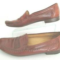 Bally Shoes Men's Size 12 M Brown Leather Loafer Flavier Made in Italy  Photo