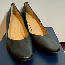 Bally Silla Black Leather Pumps Classic Msrp 285 Photo