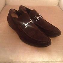 Bally Suede Shoes Brown Photo