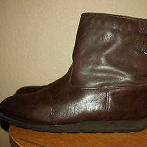 Bally Suisse Brown Leather & Shearling Lined Insulated Boot Men 10 Us / 44 Eu Photo