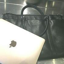Bally Switzerland Ladies Black Leather Briefcase Bag - Perfect Condition  Photo