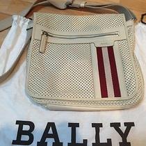 Bally Switzerland Off White Leather Bag Photo