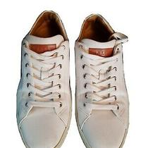 Bally Switzerland Shoes Size 9 1/2 American White Leather Made in Italy  Photo