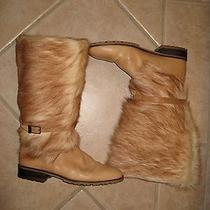 Bally Switzerland Snow Boots Fur Size 10 Photo