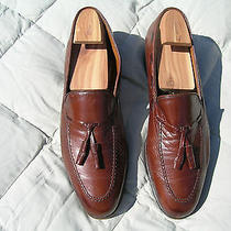 Bally Tassle  Loafers 10.5m Brown Beltic Model  Vintage Gently Worn Photo