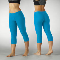 Bally Total Fitness Slim Fit Performance Capri Leggings  Blue S Photo