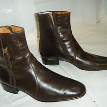 Bally Vintage Dress Ankle Boots Size 6.5 (Narrow)men Used  Photo