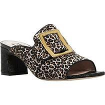 Bally Womens Janaya 55 Multi Calf Hair Mules Shoes 39 Medium (Bm)  0788 Photo