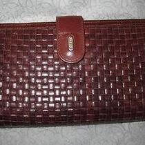 Bally Woven Leather Wallet Photo
