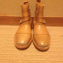 Balmain Camel Leather Boots Photo