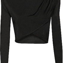 Balmain Cropped Knitted Top  Photo