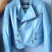 Balmain Leather Jacket Authentic Low Price Photo