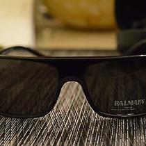 Balmain Mens Sunglasses Modern Geometric Acetate Photo