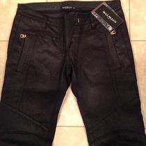 Balmain Motorcycle Jeans Never Worn Photo