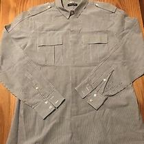 Balmain Paris  Mens Button Down Shirt  40  100% Cotton  Excellent Condition Photo