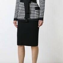 Balmain Paris Structured Black White Harlequin Check Jacket Rrp 2500 S Blazer Photo
