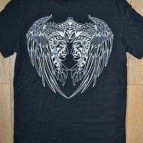 Balmain Paris T-Shirt Large Black Native American Chiefs Photo