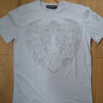 Balmain Paris T-Shirt Medium Grey Native American Chiefs Photo