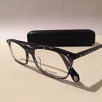 Balmain Paris Women's Acetate Studded Wayfarer Glasses Frames Bl1007 Photo