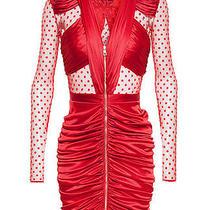 Balmain Red Dress fr.36 Photo