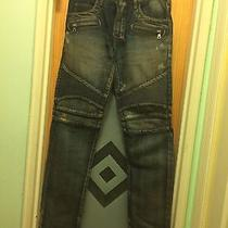 Balmain Sandwash Pants Bike Jeans Photo