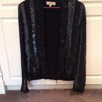 Balmain Style Black Sequinned Jacket Photo