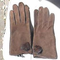 Balmain Suede Gloves Photo