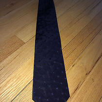 Balmain Tie Navy Blue Photo