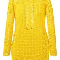 Balmain Yellow Fitted Dress Photo