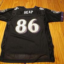 Baltimore Ravens Todd Heap 86  Football Jersey Size Youth Large L Large 14-16 Photo