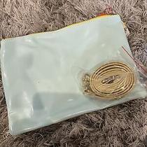 ban.do Flip Side Clutchperfect  Mint  Gold New With Tags Crossbody Purse Photo