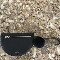 ban.do Getaway Ladies Blacktravel Clutch Purse Wallet Wristlet New Photo