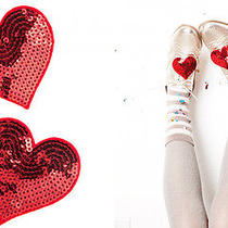 ban.do Heart Shoe Clips New  Photo