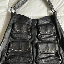 Banana Republic 4 Pocket Hobo Bag Black  Photo