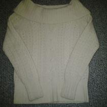 Banana Republic Angora Rabbit Hair/lambs Wool Sweater Size Xs  Photo
