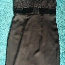 Banana Republic Black Lacetop Dress.. Size 6 Photo