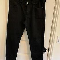 Banana Republic Black Skinny Jeans - Size 31/12 Photo