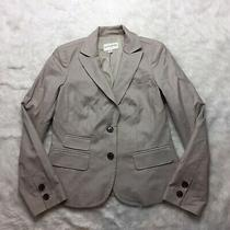 Banana Republic Blazer Size 8 Beige Two Button Career D2 Photo