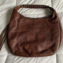 Banana Republic Brown/tan Leather Hobo Bag  Photo