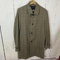 Banana Republic Classic Men Size Xxl Coat Button Front Topcoat  Rn 54023 Pockets Photo