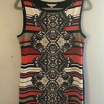 Banana Republic Dress Small Striped Design Soft Sleeveless Dress Photo