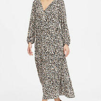 Banana Republic Leopard Tiered Maxi Dress Size Xs Petite New With Tags Nwt 2020 Photo
