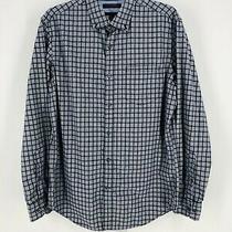 Banana Republic Men's Blue Button Down Slim Fit Long Sleeve Shirt Size Medium Photo