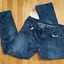 Banana Republic Men's Vintage Straight Jeans Blue Denim Medium Wash Size 33 X 30 Photo