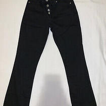 Banana Republic Mid-Rise Crop Flare Womens Black Jeans Size 26 Photo