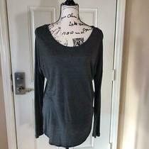 Banana Republic Modal Tunic Top Gray  Size Xs Photo