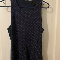 Banana Republic Navy Dress Size 8 With Pockets Photo